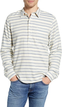Madewell Double Weave Perfect Pullover Shirt