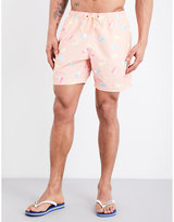 Boardies Flag-print Mid-length Swim Shorts