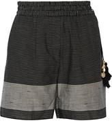 DAY Birger et Mikkelsen Caftan striped cotton shorts