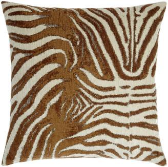 D.V. Kap Home Zebrana Tan Pillow