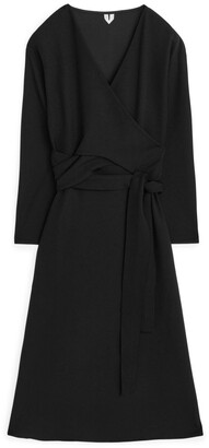 Arket Knotted Jersey Dress
