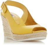 Dune London Knox Open Toe Wedge Sandals