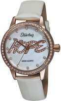 Stuhrling Original Women's Hope Dial Swarovski Watch 519H.1145P7