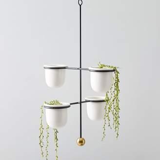 west elm Mobile Hanging Planters