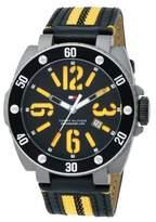 Tommy Hilfiger Men's 1790689 Sport Stainless Steel with Aluminum Bezel Watch