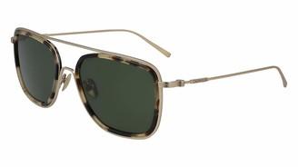 Calvin Klein Men's 244 Square Sunglasses