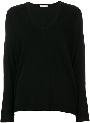 6397 lightweight V-neck jumper
