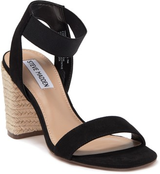 Steve Madden Trapeze Block Heel Espadrille Sandal
