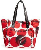 Stella McCartney Thanks Girls Nylon Tote - Red