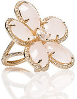 Kate Spade In blossom cocktail ring