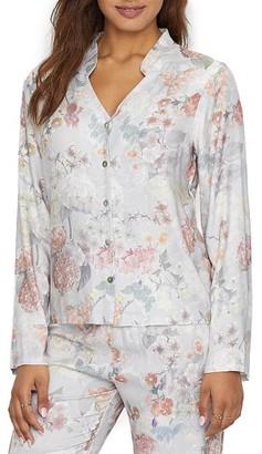 Flora Nikrooz Moira Floral Woven Pajama Top
