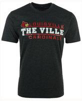 Colosseum Men's Louisville Cardinals Verbiage Stack T-Shirt