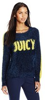 Juicy Couture Black Label Women's Slinky Sweater Pullover