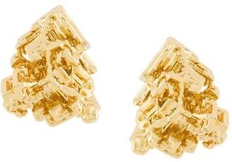 Coup De Coeur Vortex stud earrings