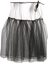 Nostra Santissima full sheer skirt