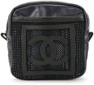 Chanel Pre Owned Sports Line CC pouch bag