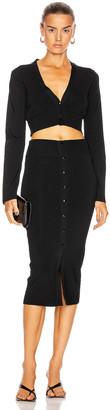 GAUGE81 Malaga Midi Dress in Black | FWRD