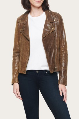 The Frye Company Biker Stud Jacket
