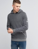 Bench Overhead Hoodie With Contrast Cuffs