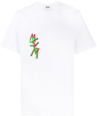 MSGM logo-print short-sleeve T-shirt