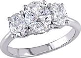 Affinity Diamond Jewelry Affinity 1.45 cttw Diamond Engagement Ring, 18K