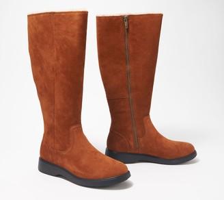 Clarks Leather Tall Shaft Boots - Un Elda Hi