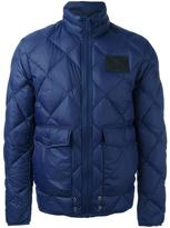 Diesel patch pocket padded jacket