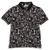 Dolce & Gabbana Toddler's & Little Boy's Printed Polo Shirt