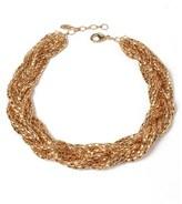 Amrita Singh Braided Chain Link Necklace.