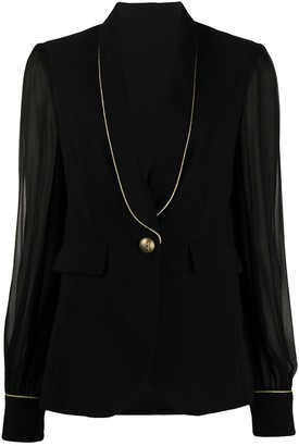Pinko Long-Sleeve Blazer