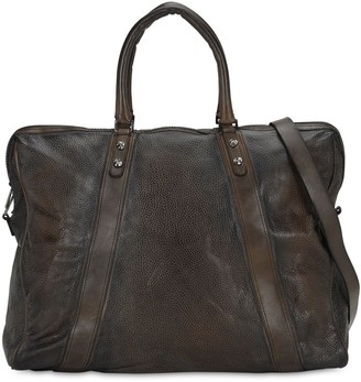 Numero 10 Weekender Leather Duffle Bag