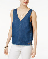 True Religion Cotton Denim Tank Top