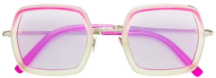 Cutler & Gross oversized square shaped sunglasses