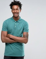 Tommy Hilfiger Slim Pique Polo With Small Logo