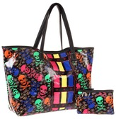 Betsey Johnson Signature SM Tote (Black) - Bags and Luggage