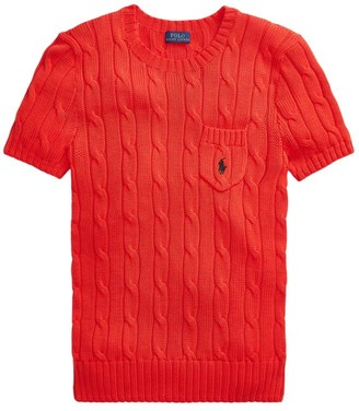 Polo Ralph Lauren Cable Knit Pocket T-Shirt