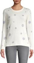 Richard Quinn Dot-Print Cashmere Sweater