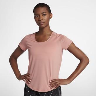 Nike Women's Short-Sleeve Running Top 10K