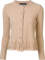 Moschino fringed cardigan - women - Virgin Wool - 40
