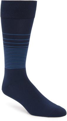 Nordstrom Ombre Stripe Ultrasoft Socks