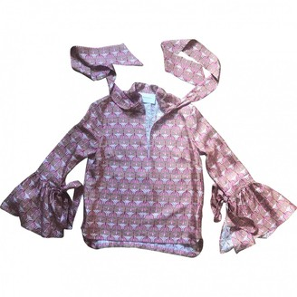 La DoubleJ Pink Silk Top for Women