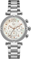 Gc Y16001L1 ladychic silver-tone watch