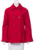 Moschino Cheap & Chic Moschino Cheap and Chic Wool Double-Breasted Coat