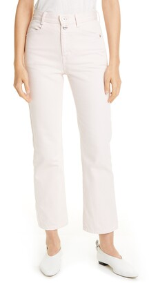 Proenza Schouler White Label Stovepipe Jeans
