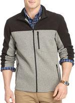 Izod Full-Zip Pieced Shaker Fleece Jacket