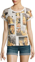 Mighty Fine Disney Collection Short-Sleeve Roll Cuff Tee