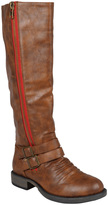 Journee Collection Brown Lady Wide-Calf Boot
