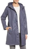 Joules Women's Right As Rain Longline Waterproof Hooded Coat