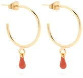 Isabel Marant Perky hoop-drop earrings