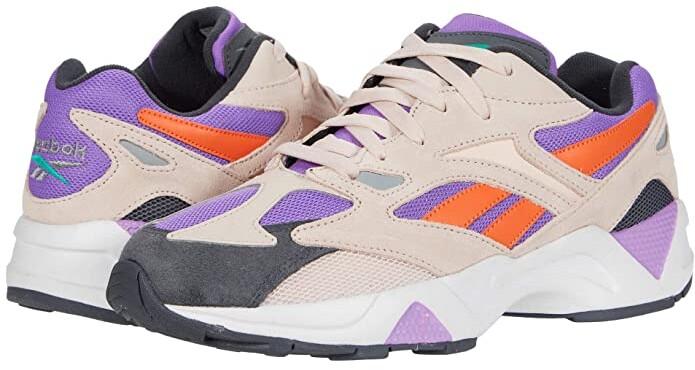 Reebok Aztrek 96 (Buff/Grape/Cold Grey) Athletic Shoes